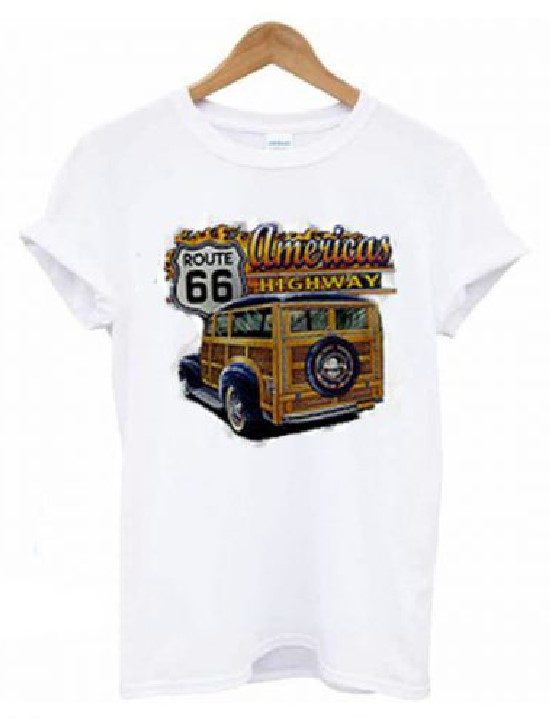 Route 66 Americas Highway T-shirt