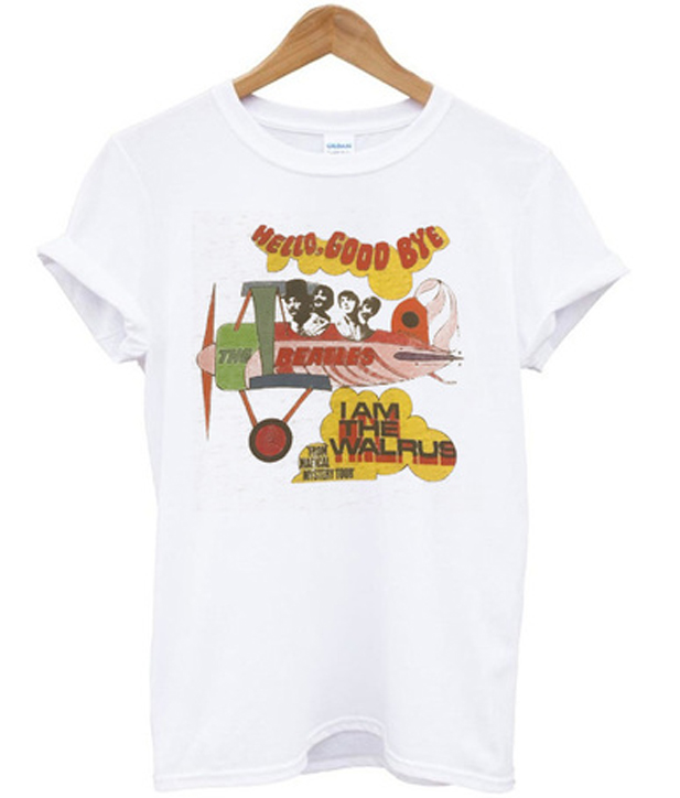 Hello Good Bye The Beatles T-shirt