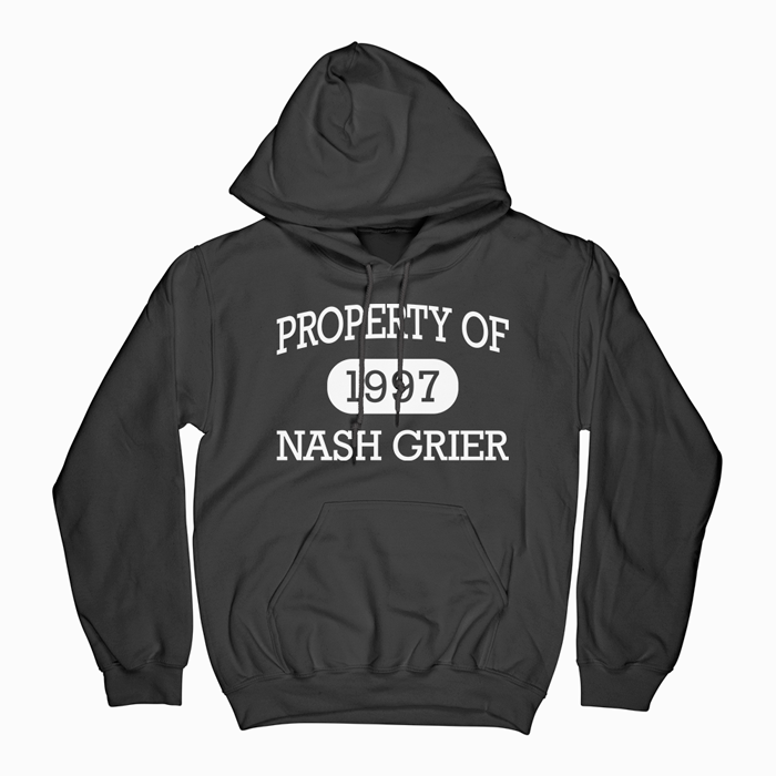 Property Of Nash Grier Hoodie