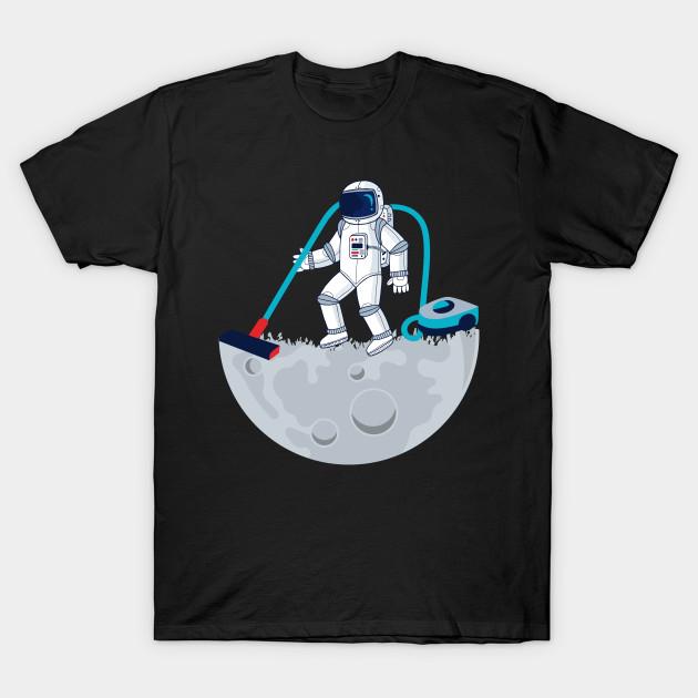 Astonout Vacuum Day T-shirt