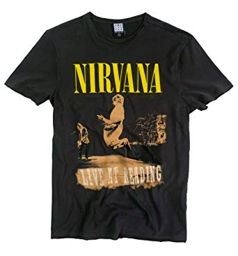 Nirvana Live At Reading T-shirt
