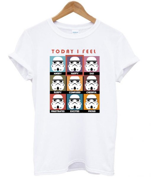Star Wars Today I Fell T-shirt