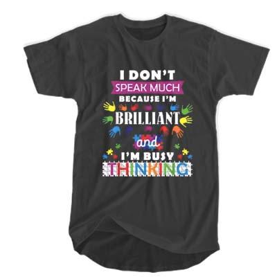 I Don't Speak Much T-shirt