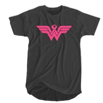 Wonder Woman AIDS Survivors T-shirt