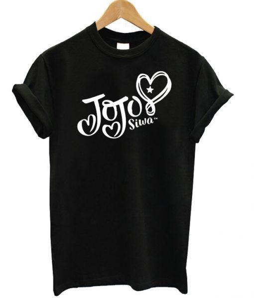 Jojo Siwa White Logo T-shirt