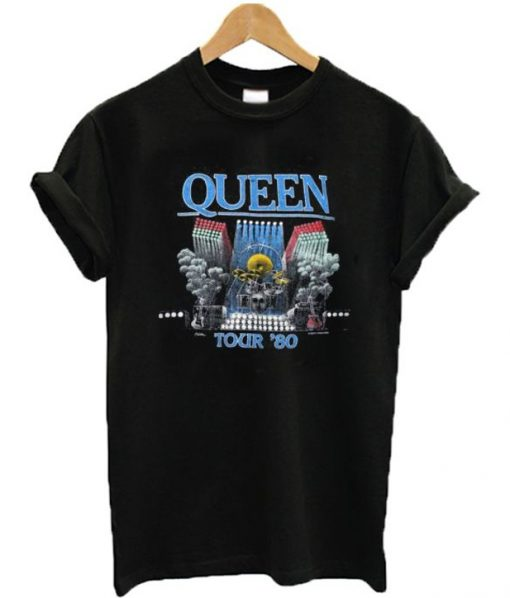Queen Tour 80 T-shirt