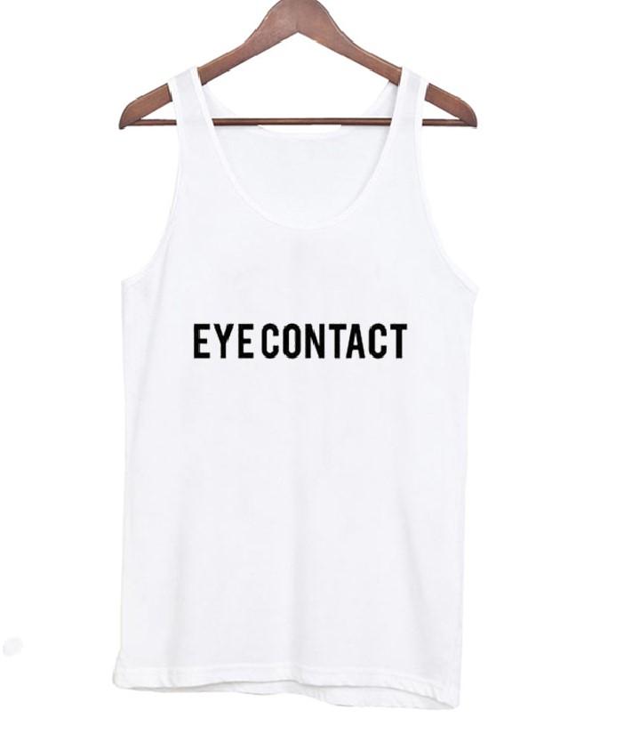 Eye Contact Tank Top