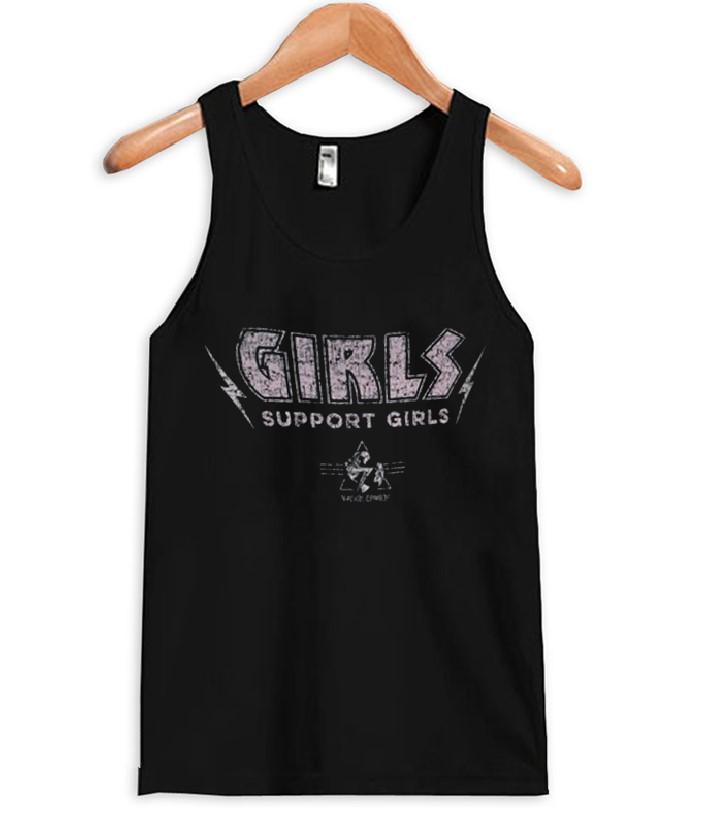Girls Support Girls Tank Top