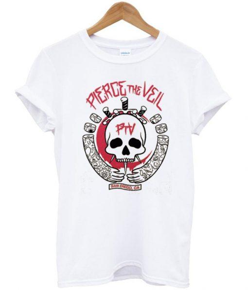 Pierce The Veil Skull T-Shirt