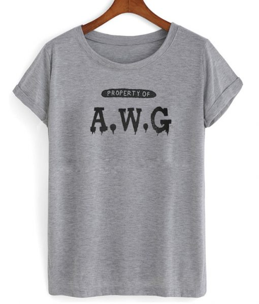 Property Of AWG T-Shirt