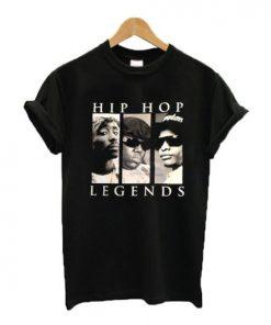 Hip Hop Legends Tupac Eazy E Biggie T-shirt